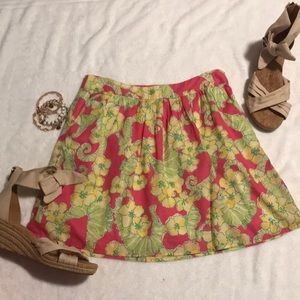 Lilly Pulitzer Whitney Skirt Daiquiri Pink Floater